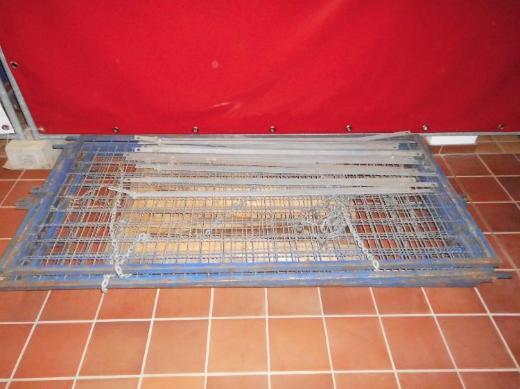 Absturzsicherung, Dachschutzgitter, Dachschutzwand - Wagenfeld