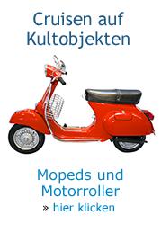 Roller und Mopeds