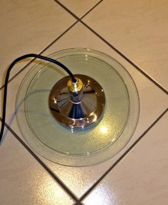 Decken Pendel Leuchte >> Wohn - Esszimmer,Glas + Chrom - Münster