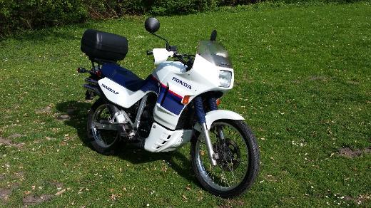 Motorrad Honda, Transalp, Modell-California, XL 600 V, Bj. 08.1991, Top Zustand