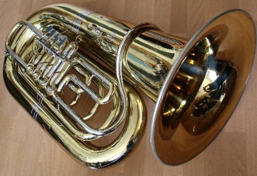 6/4 B/Bb Kaiser-Tuba Cerveny CBB693-4 Lackiert