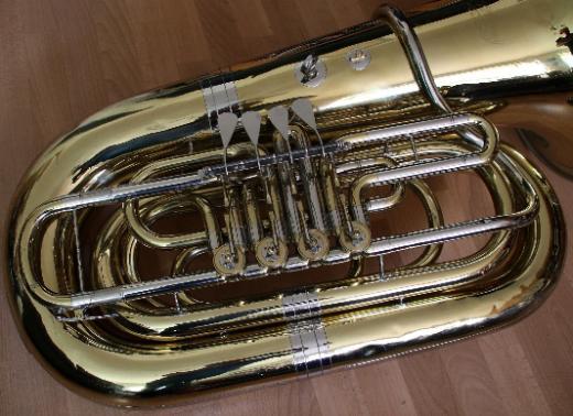 6/4 B/Bb Kaiser-Tuba Cerveny CBB693-4 Lackiert - Chemnitz