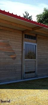 Weidehütte, Offenstall, Unterstand MASSIV Außenboxen für Pferde, Pferdeboxen - Kolbingen