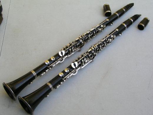 Fritz Wurlitzer Erlbach A - B Klarinetten Satz von Musiker