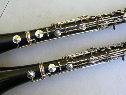 Fritz Wurlitzer Erlbach A - B Klarinetten Satz von Musiker - Stuttgart