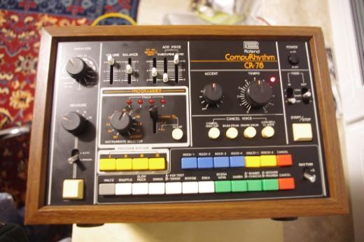 Roland CR-78 Analog Drumcomputer CompuRythm