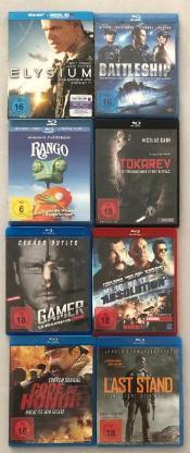 8 Blu ray Filme