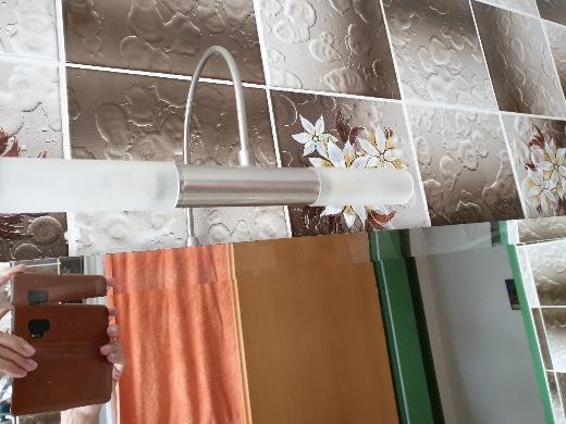 Badezimmerspiegel(groß!) incl. 2 Halogen Lampen - Nottuln
