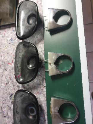 Badehandtuchhalter, Haltegriff und 3 Seifenschalenhalter - Nottuln