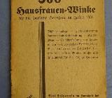 """Antiquität """"Ratgeber für die sparsame Hausfrau"""" von 1934 - Raesfeld"""