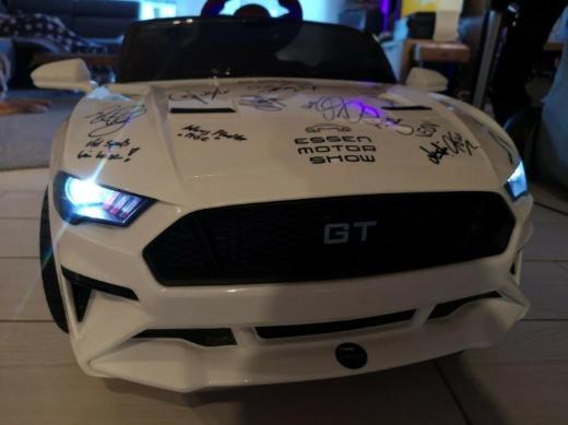 12 V Elektro Mustang für Kinder