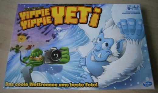 Yippie Yippie Yeti - Hasbro Brettspiel NEU