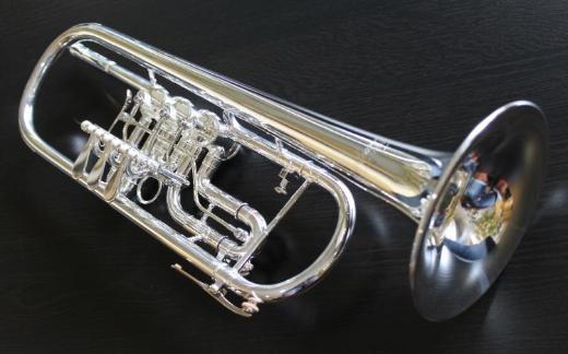 V.F. Cerveny Konzert - Trompete, Neusilberkranz, Trigger, versilbert, Neuware - Hagenburg