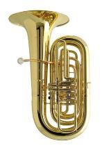 Orig. Musica BBb - Tuba, Mod. 714-4. Neuware inkl. Gigbag