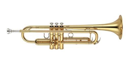 Yamaha B - Trompete, Profiklasse YTR 6345 G, Made in Japan. Neuware inkl. Mundstück und Koffer - Hagenburg