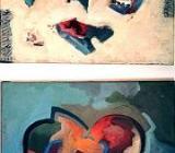 Es ist was es ist II - Acryl auf Leinwand 50 x 40 cm Original Ingrid Wolff-Bleekmann - Münster