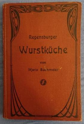 Antiquariat Kochbuch Regensburger Wurstküche