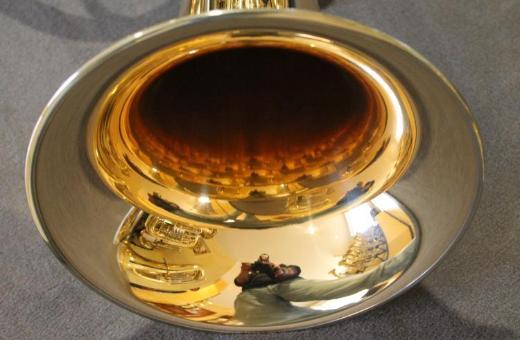 Melton Ernst Hutter Tenorhorn Egerländer Musikantenmodell Mod. 139 MT, Goldmessing, Neuware - Hagenburg