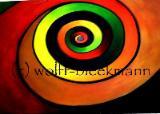 Geburtstag - Acryl auf Leinwand 70 x 50 cm Original Ingrid Wolff-Bleekmann