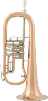 V. F. Cerveny Konzert - Flügelhorn, Mod. CFH 702 R mit Koffer