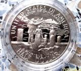Halben Dollar anlässlich der 100 Jahr Feier der Statue of Liberty - Ibbenbüren