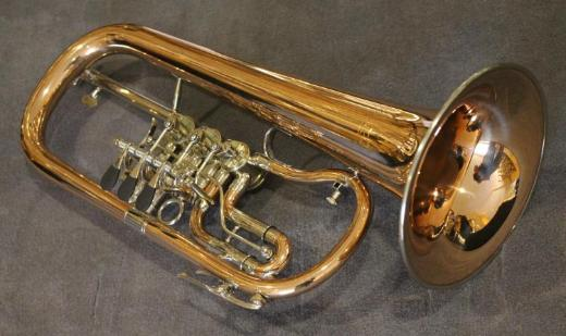 V. F. Cerveny Konzert - Flügelhorn, Mod. CVFH 702 R mit Koffer - Hagenburg