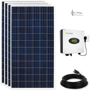 Solaranlage 2000 Watt Solarmodule Solaranlagen Photovoltaikanlagen Photovoltaik - Ahlen