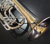 Meister J. Scherzer Profiklasse Konzert - Trompete 8218W-L mit 2 Überblasklappen + Doppeltrigger Neu - Hagenburg