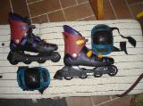 Inlineskater, Größe 40 der Marke Trex SX 5, mit Knieschoner, gebraucht in gutem Zustand