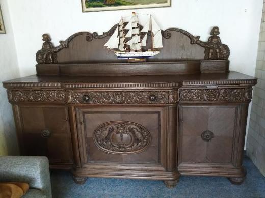 3 schöne Möbelstücke um 1900-1920