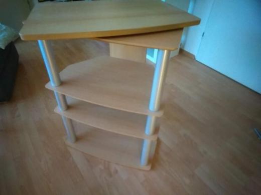Zu verschenken: TV Tisch | Holz | Schränkchen
