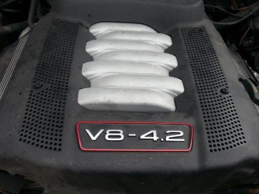 Audi A6 (4B C5) / S6 Motor 4,2 V8 Benzin AQJ 340 PS 1 Jahr Garantie - Gronau (Westfalen)