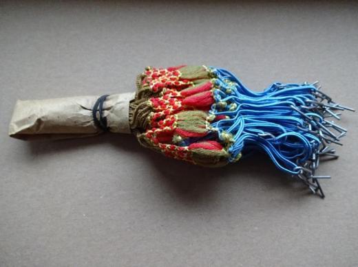 Oldtimer Kleidernetz, Mantelschutz Netz, rot