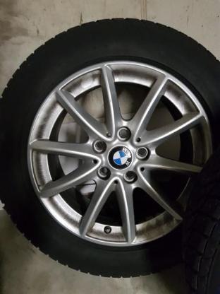BMW 2er Grand Touran winterreifen, mit original BMW Alufelgen