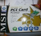 WLAN, MSI - PCI Card, PC54G2 - Netzwerkkarte - Münster