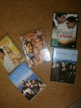 5 Bollywood DVD's - je 3,50 €