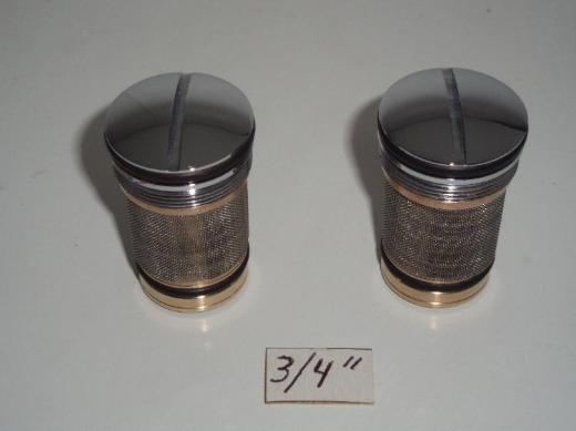 "Grohe Rückflußverhinderer 14115, DN 20, (3/4""), 2 St., AP chrom für Grohmix 34428 Thermostat- Armaturen"