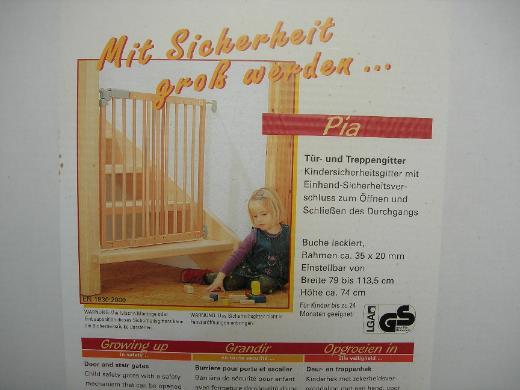 Tür-Treppenschutzgitter - Münster