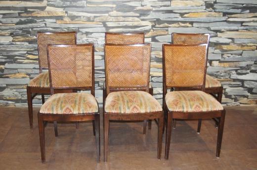 Antiker Jugendstil Stuhlsatz und dazugehöriger Tisch
