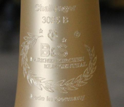 B&S Challenger Elaboration Bb / F - Posaune mit Quartventil, Neuware - Hagenburg