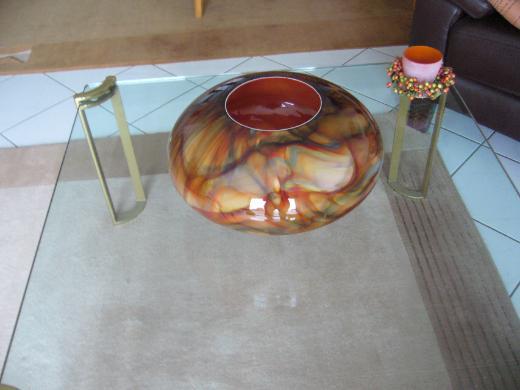 2 Vasen (Tisch u. Standvase) Unikate - Münster