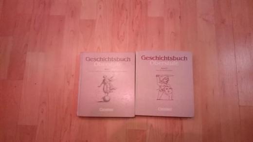 Geschichtsbuch Oberstufe Band 1 und 2 von Cornelsen