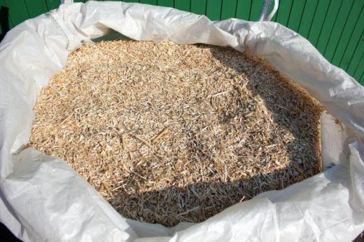 Miscanthus Häcksel als Einstreu / Mulch im BigBag (ca. 250kg) / Alternative zu Sägespänen - Ascheberg