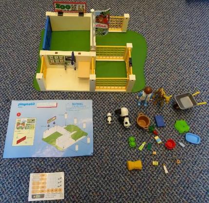 Playmobil SuperSet Zoo-Pflegestation 4009