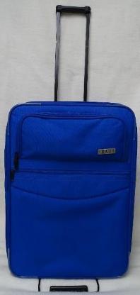 Reisekoffer mit Softschale, Farbe: blau