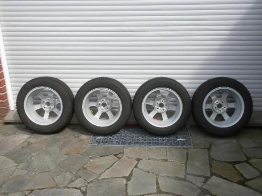 VW Winterkompletträder auf Alufelgen 6,0 J x 15 H 2, ET40 (z.B. für VW Polo) - Telgte