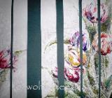 Tulpen-Collage 50 x 40 cm Original Ingrid Wolff-Bleekmann - Münster