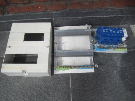 Schaltkasten / Sicherungskasten