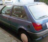 Youngtimer zu verkaufen, Ford Fiesta, blau metallic, Bj. 1990 - Münster