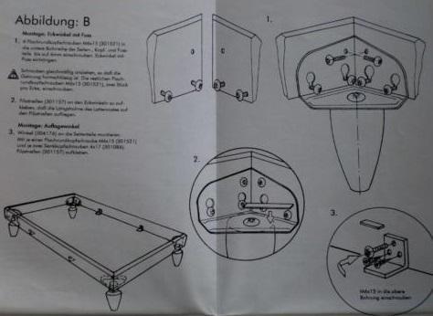 RUF Doppelbett Modell Nova Buche 160 x 200 - Münster